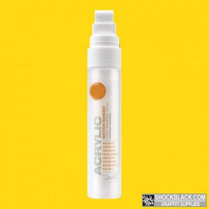 Montana Acrylic Marker 15 mm S1010 Yellow EAN4048500323133