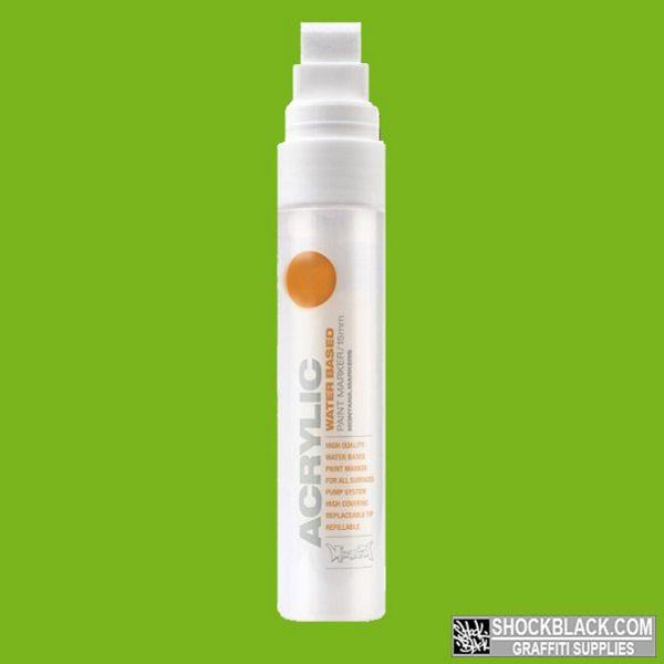 Montana Acrylic Marker 15 mm S6000 Green Light EAN4048500323348