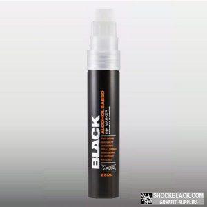 Montana Black Ink Marker STANDARD TIP 15mm Silver EAN4048500326271
