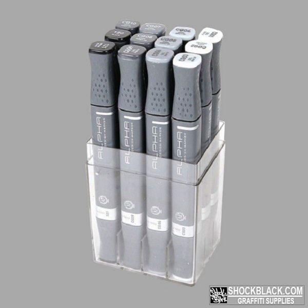 Alpha Design Set 12er Cool Grey EAN4048500249204