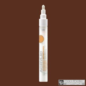 Montana Acrylic Marker 2mm S8010 Brown EAN4048500323058