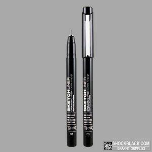Montana Sketchliner 0.1mm EAN4048500337260