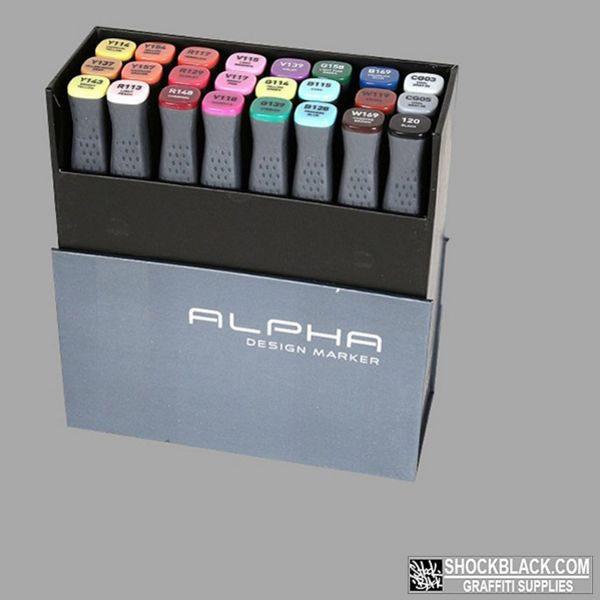 Alpha Design Set 24er EAN4048500368004