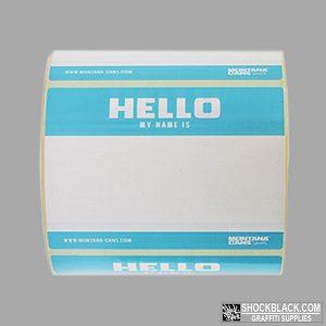 Hello my name is Licht Blauw 466231