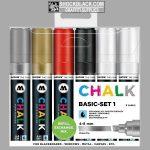 Molotow Chalk-krijt markers Basis TI50903201