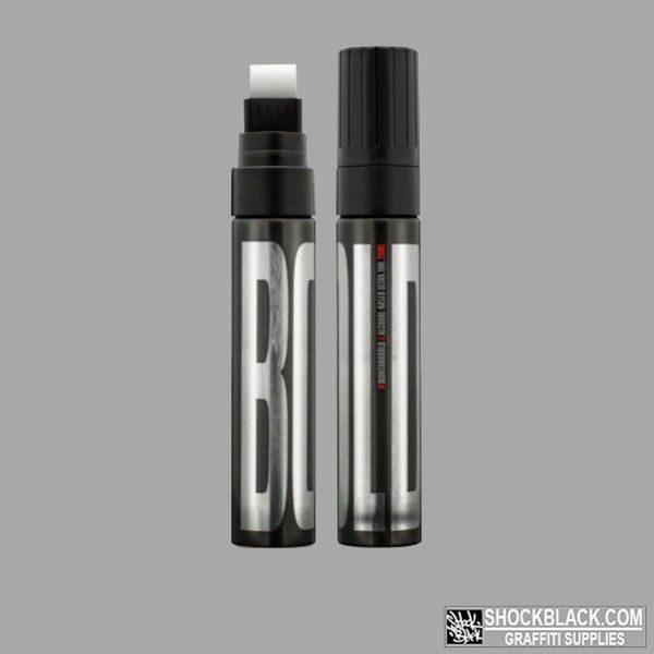 BOLD Ultra Black Ink Marker Montana STANDARD TIP 15mm Black EAN4048500468339