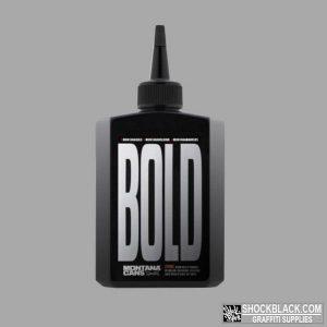 BOLD Ultra Black Ink Montana Refill 200ml Black EAN4048500468346