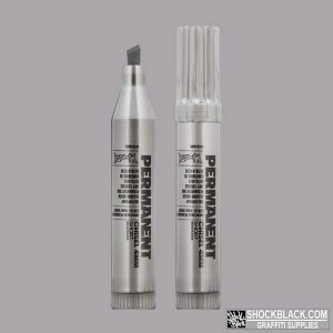 Montana Permanent Marker 4mm Short Silver EAN4048500268755
