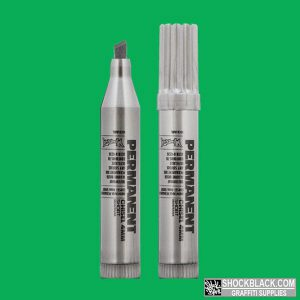 Montana Permanent Marker 4mm Short GREEN EAN4048500307959