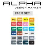 Alpha Design Set 24er