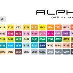 Alpha Design Marker Set A 60er